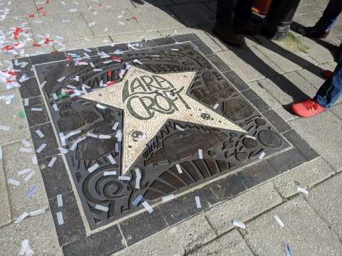Lara Croft Walk of Fame