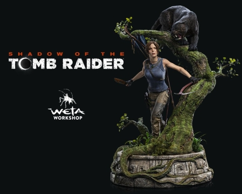 Shadow of the Tomb Raider Statue