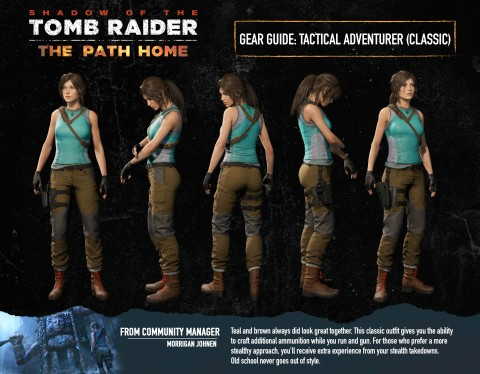 Shadow of the Tomb Raider Tactical Adventurer