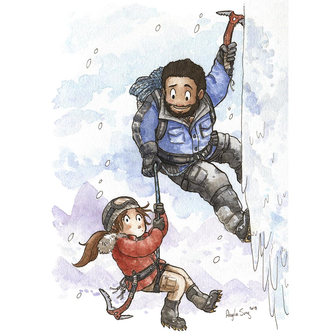 Tomb Raider Chronicles Lara Croft And Jonah Valentine S Day Artwork