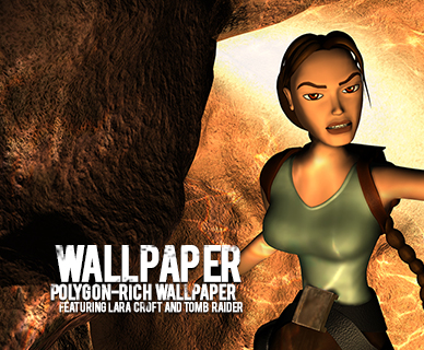 Lara Croft and Tomb Raider Wallpaper