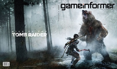 Rise of the Tomb Raider in Game Informer
