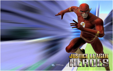 Justice League Heroes Microsite