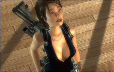 Tomb Raider Legend game-play movies