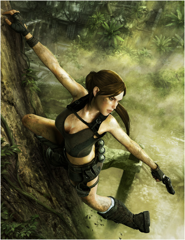 Lara Croft Renders