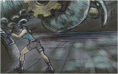 Tomb Raider Underworld Storyboard