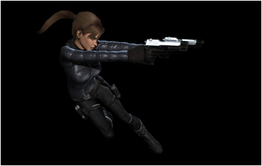 Lara Croft Model Renders
