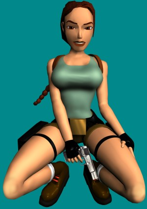 Tomb Raider III High Resolution Artwork