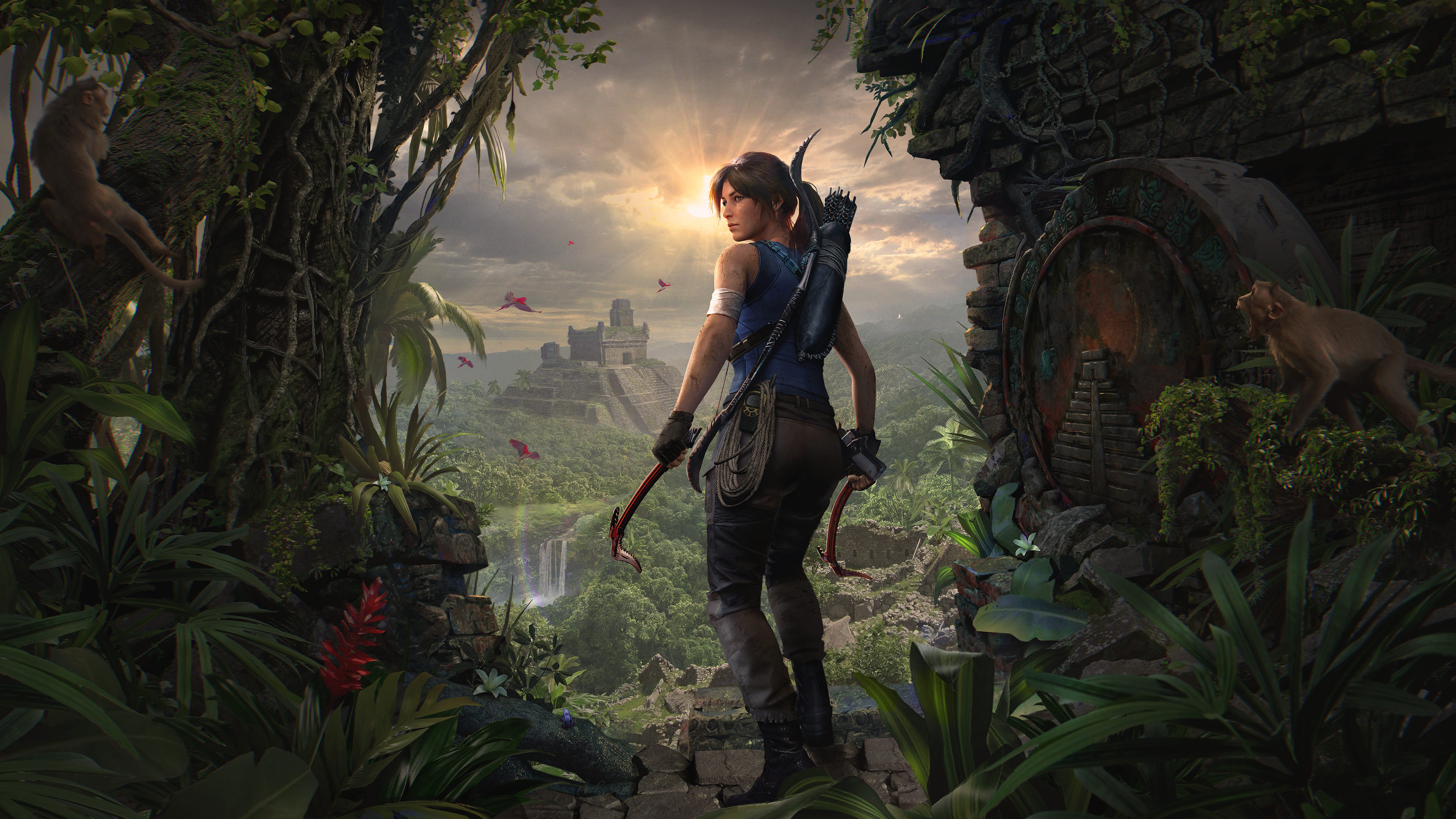 Shadow Of The Tomb Raider Definitive Edition Trailer Tombraider