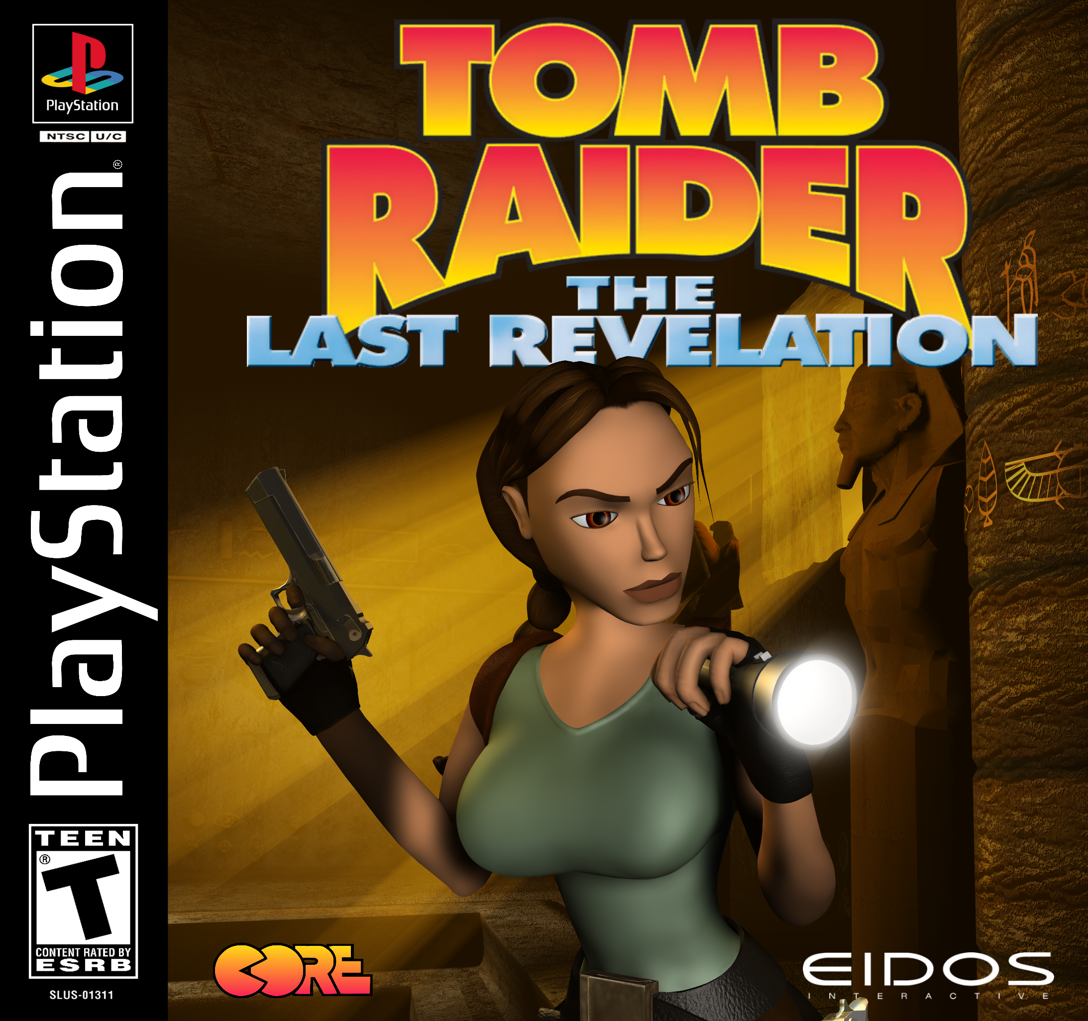 Tomb Raider Covers U S Playstation By Ligufaca