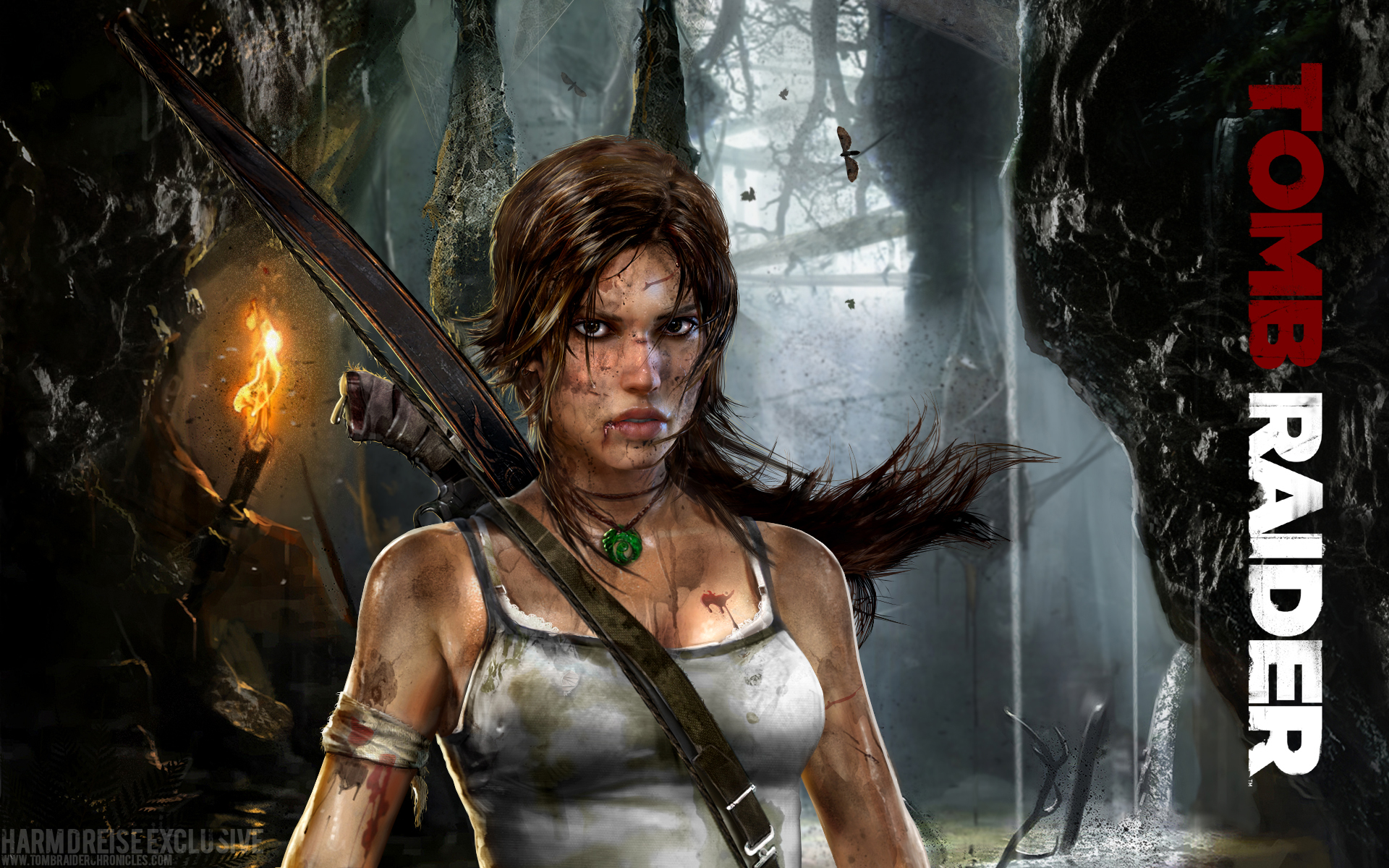 ... traditional Lara Croft titles and ventures into a more mature realm.