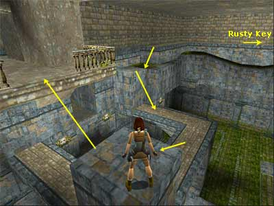 Tomb Raider Walkthrough And Game Guide Greece Level 8 The Cistern
