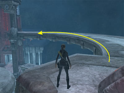 Tomb Raider Underworld Walkthrough and Game Guide - Arctic Sea: Out